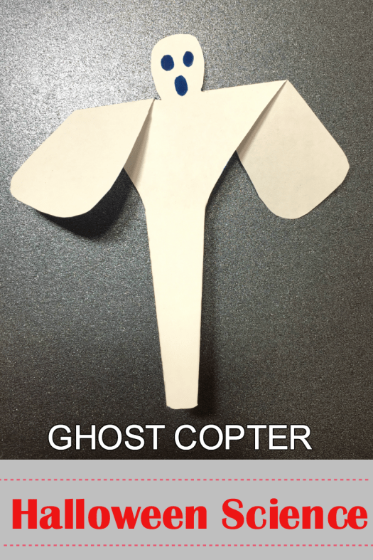Ghostcopter an Aerodynamic science project for kids
