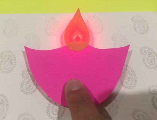 Light up card