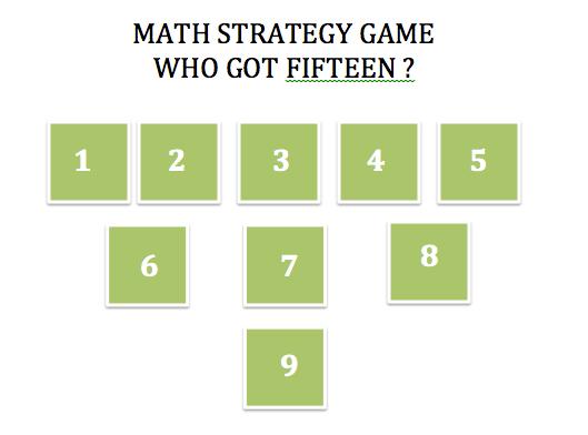 Who got fifteen - math strategy game