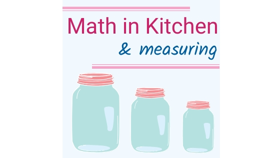 math and cooking and measuring