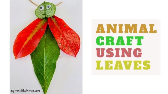 Leaf Animal Craft blog title