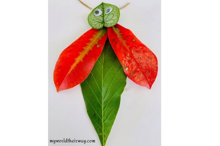 bug leaf art
