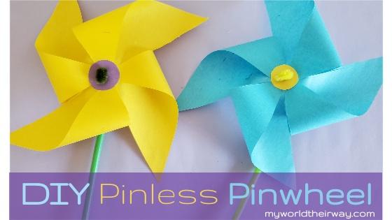 Pinwheel without pins blog title