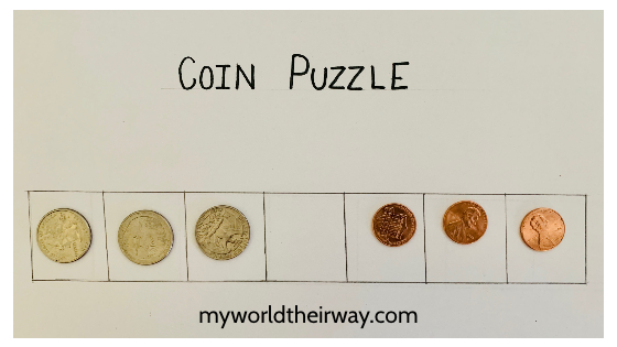 end 6 coin puzzle