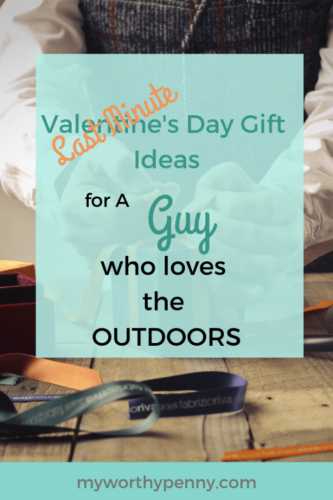Get your guy a Valentine's day gift under $30 that he will love and will definitely use this coming camping season.