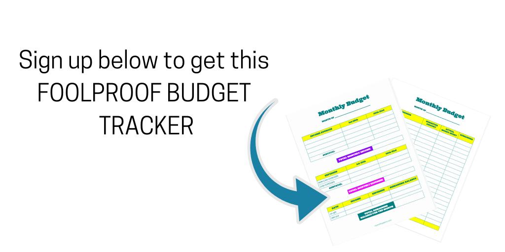 Foolproof Budget Tracker