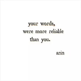 TWO POETIC QUOTES FROM POET ARIN 1