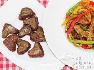 How to cook Nigerian Dan Wake 1