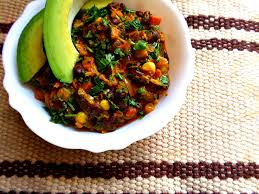 A RECIPE FOR KENYAN VEGETABLE CURRY 1