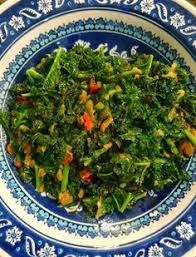 A RECIPE FOR MIXED GREENS, KENYAN STYLE 1