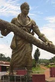 THE GIANT WARRIOR - PRINCE ARHUANRAN OF BENIN KINGDOM 1