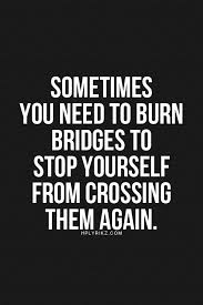 FOOD FOR THOUGHT - BURN THE BRIDGES 3