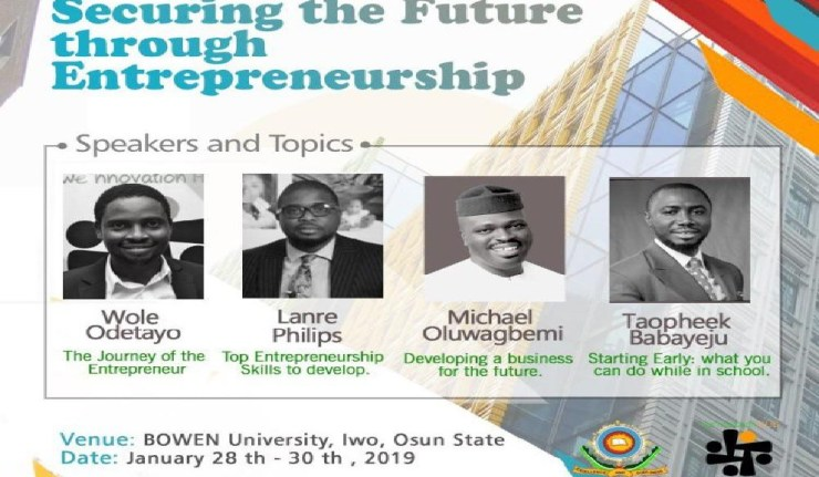 BOWEN UNIVERSITY: SECURING THE FUTURE THROUGH ENTREPRENEURSHIP 02 1