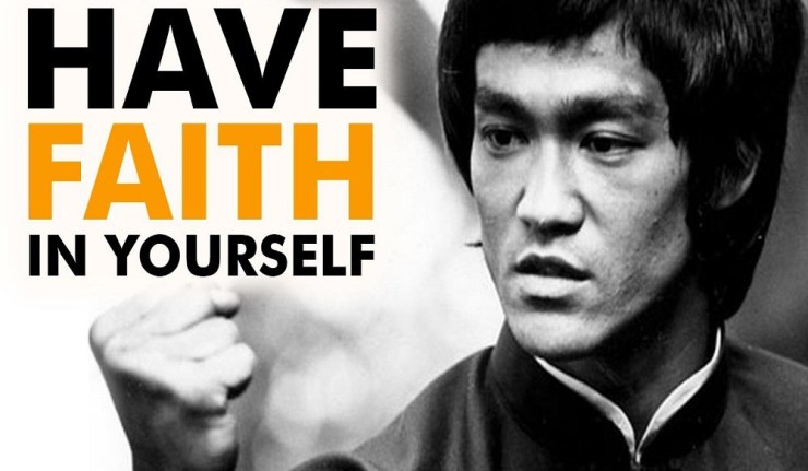 HAVE FAITH IN YOURSELF! 1