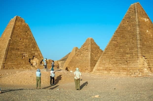 NUBIAN PYRAMIDS OF SUDAN - BY GHOZKY 2