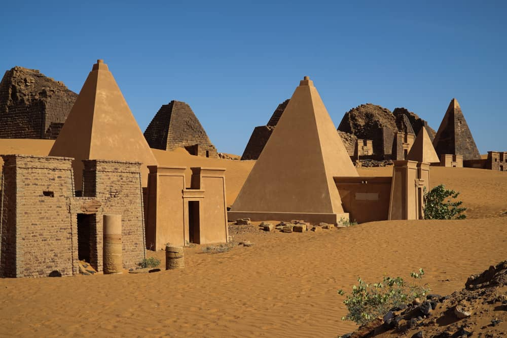 NUBIAN PYRAMIDS OF SUDAN - BY GHOZKY 4