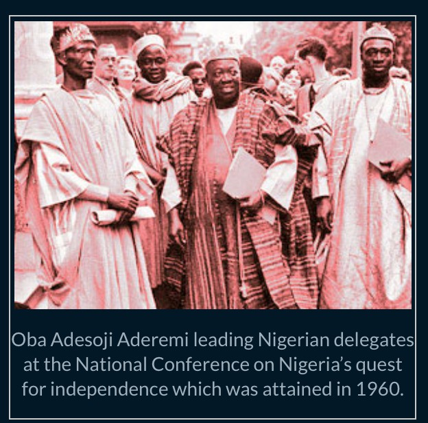 OBA SIR ADESOJI ADEREMI: THE OONI OF IFE THAT ALSO SERVED AS GOVERNOR OF WESTERN REGION 8