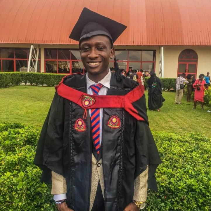 Johnson Okunade on convo