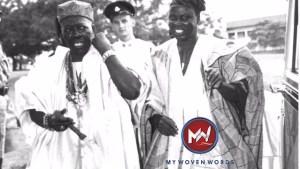 Ooni Adesoji Aderemi and Chief Samuel Ladoke Akintola