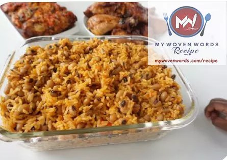 jollof rice and beans