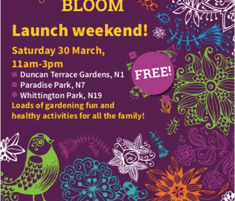 Islington In Bloom Launch March 30