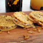 Grain Free Gourmet Grilled Cheese Pizzelles