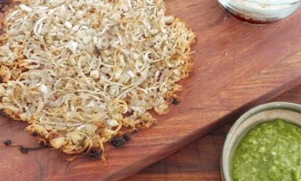 Cassava Spiralized Pizza Crust