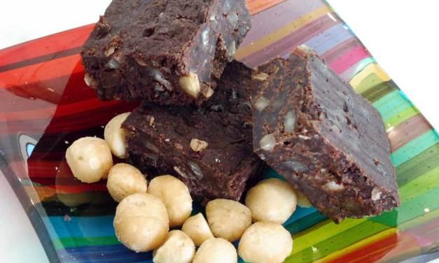 Macadamia Date Brownies Bites