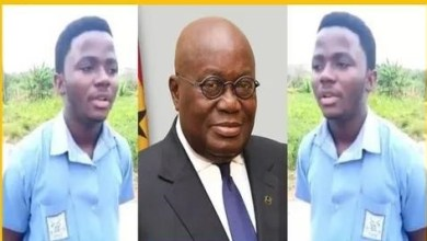 Photo of Nicholas Cobbinah, Free SHS student who insulted Akufo-Addo; how he did in the WASSSCE