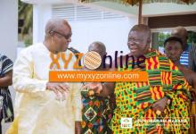 Photo of I gave Asanteman 'the most beautiful market' in West Africa – Mahama woos Otumfuo