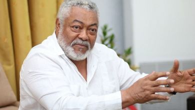 Photo of Greater Accra NDC walks for Rawlings at Ningo Prampram