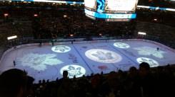 in the hockey stadium
