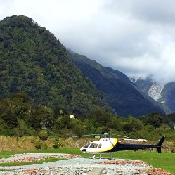 Heli-hiking to the Franz Josef Glacier