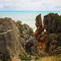 Pancake Rocks at Dolomite Point - Punakaiki