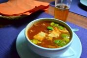 Sopa Azteca; my favorite soup