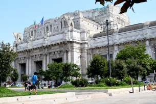 Milano centrale train station