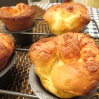 The Popover Experiment - Recipe No. 1 - Brown 'n Crusty on the Outside, Soft & Creamy on the Inside