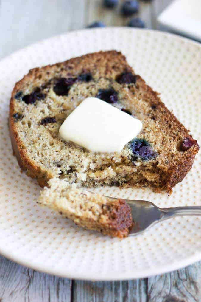 Over-ripe bananas, again? This quick and easy recipe for perfectly moist Blueberry Banana Bread is just what you've been searching for!