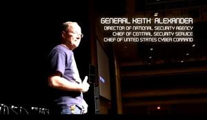 ژنرال کیت الکساندر در DEFCON 2012