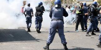 Police in Boikhutsong