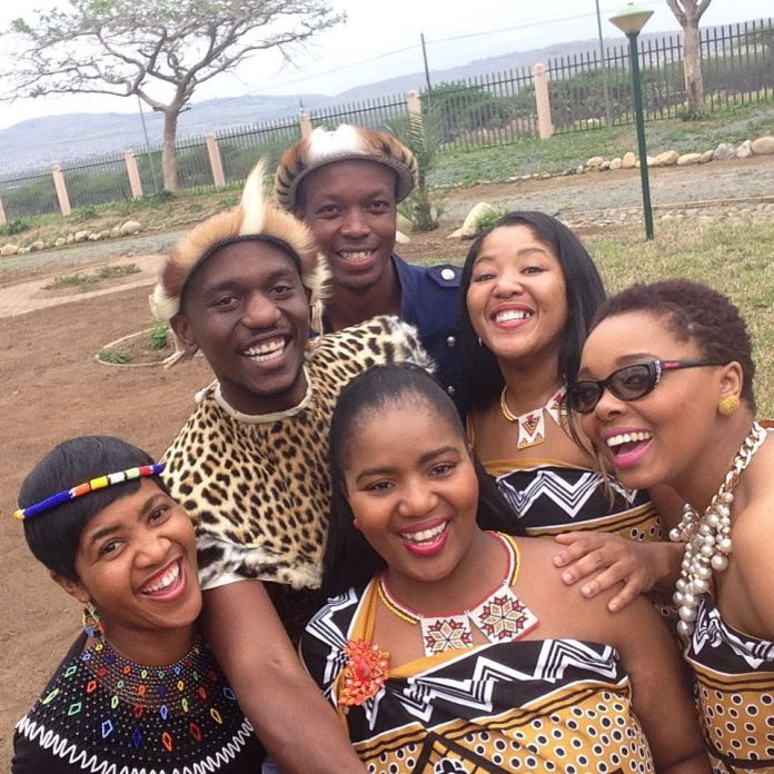 Zulu Reed dance