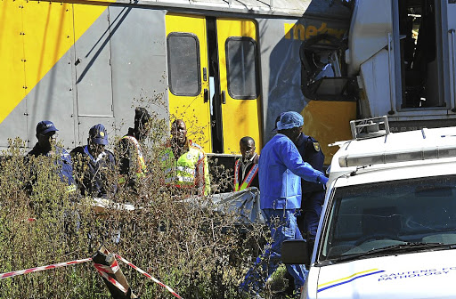 Kempton Park train crash