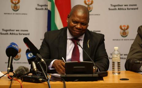 Minister Zweli Mkhize