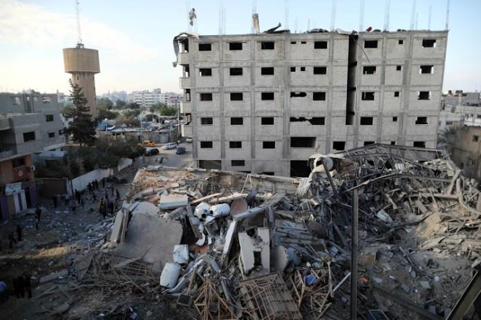Five Palestinians killed