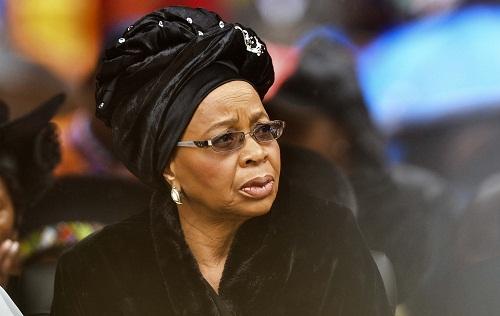 Former First Lady' Graca Machel'