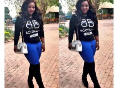 Jackie Appiah in South Africa