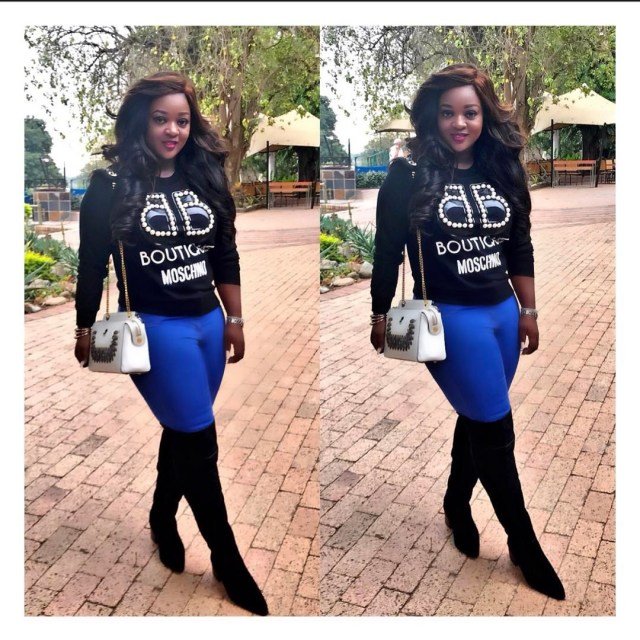Jackie Appiah in South Africa