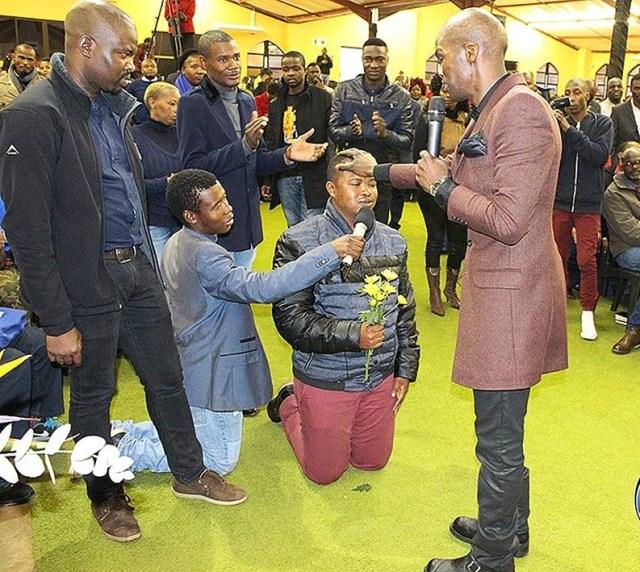 Pastor Lesego Daniels