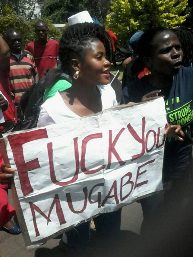 Fuck you Mugabe