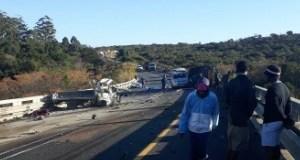 Truck Accident kills 4